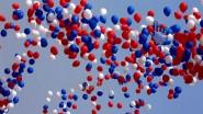 Выпуск воздушных шаров