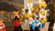 Оформление шарами юбилея мужчины