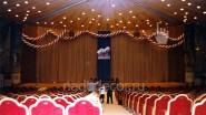 Украшение концертного зала к юбилею организации