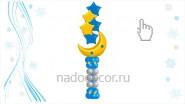 Столбик с букетом «Нов-я ночь», В-2.1метра, 2100руб