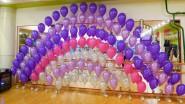 Гирлянда из гелиевых шаров