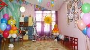 Украшение игровой комнаты шарами