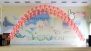 Гелиевые арки на выпускной