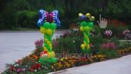 Детские композиции из шаров для улицы