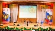 Оформление сцены к 210 Министерства Юстиции