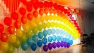 Гирлянда из гелиевых шаров: 180 руб/м