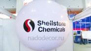 Виниловый шар с логотипом компании