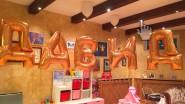 Имя ребенка из шаров на День рождения