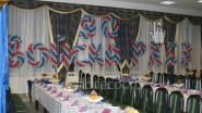 Надписи из шаров «90 лет войскам РХБЗ»