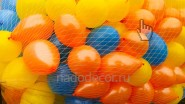 Выпуск летающих шаров из сетки