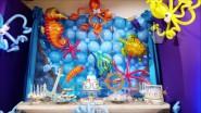 Украшение детского праздника «Подводное царство»
