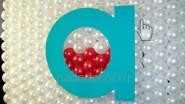 Логотип из шаров компании Акрон