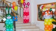 Фигурки из шаров на день рождения дочери