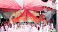 Украшение свадьбы в розовом стиле