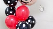Фонтан из шаров с Минни Маус