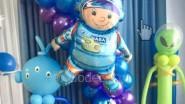 Инопланетяне - гуманоиды из воздушных шаров