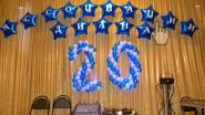 Надпись на фольгированных шарах