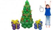 Ёлка и подарки из шаров: 3360р.-