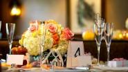 Стильная композиция на стол из цветов
