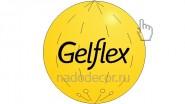 Желтый большой шар. Винил, латекс. Размеры: от 1 до 3 метров