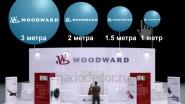 Сравнительные размеры больших шаров 1-3 метра