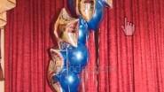 Фонтан из шаров «Звездный со знаком зодиака»: 2590 руб.-