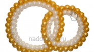 Обручальные кольца из шаров: 2390руб. Ширина -1,8 м.