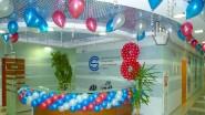 Украшение офиса 8 марта