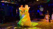 Световое оформление первого танца молодых