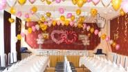 Свадебное оформление зала на свадьбу