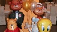 Украшение кафе шарами к Дню рождения ребенка