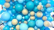 Фотозона из больших шаров