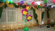 Оформление класса детского сада шарами: «Сказочные цветы»