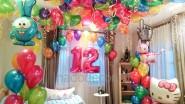 Украшение комнаты к 12-ти летию девочки