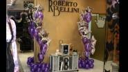 Оформление шарами к презентации бутика