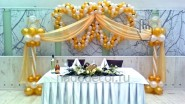 Свадебные сердечки с фонариками