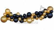 Разноразмерная гирлянда из шаров: от 690 руб/м
