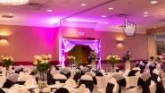 Художественная подсветка на свадьбе