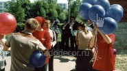 Надувание и раздача шаров: от 2850 руб-.