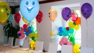 Украшение стола ко Дню рождения внучки