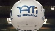 Большой виниловый шар три метра (3м.) с гелием: 35 900р.-