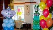 Недорогое оформление детского праздника шарами